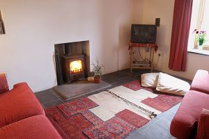 Garn Isaf Pembrokshire Self Catering star Bedroom St Davids Lounge Living Area