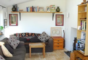 Garn Isaf St Davids Self Catering B&B Abercastle South Wales Living Area