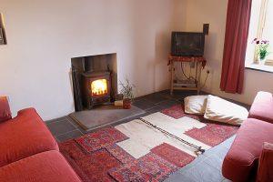 Garn Isaf Pembrokshire Self Catering star Bedroom St Davids Lounge Living Area