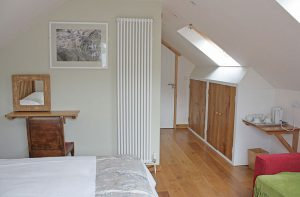 Garn Isaf Seal Cove Bedroom Pembrokshire Bed and Breakfast