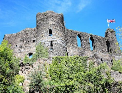 Haverfordwest-Castle-Pembrokshire-Garns-Isaf-Attractions