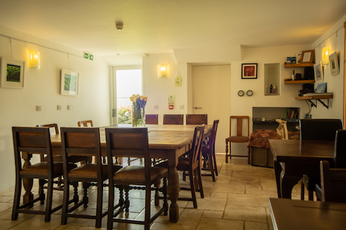Garn Isaf Pembrokeshire Dining Area