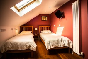 Swallows Nest Pembrokeshire Garn Isaf Twin Bedroom