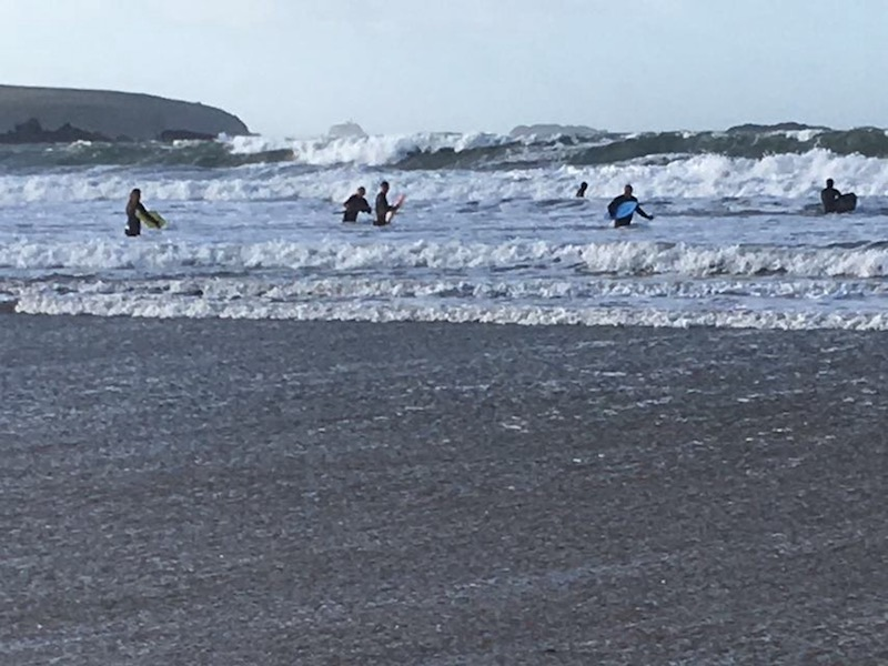 Pembrokeshire Surf Charity Garn Isaf
